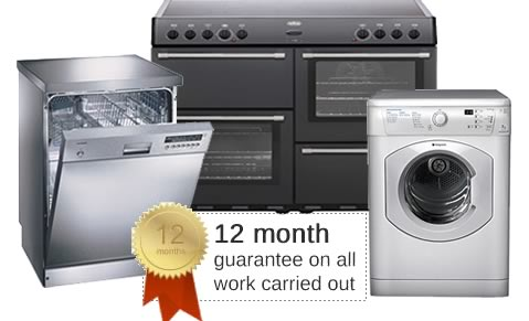Domestic appliance repairs in Surrey & London